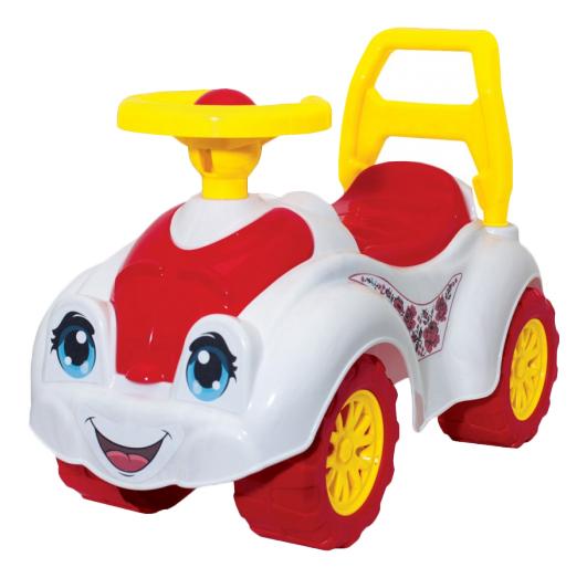 Купить 3503, Каталка детская Інтелком ТехноК Бело-красный, Машинки каталки