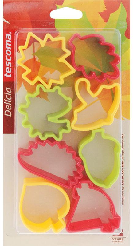 Набор для выпечки Tescoma Delicia 630904 Желтый; Зеленый; Красный