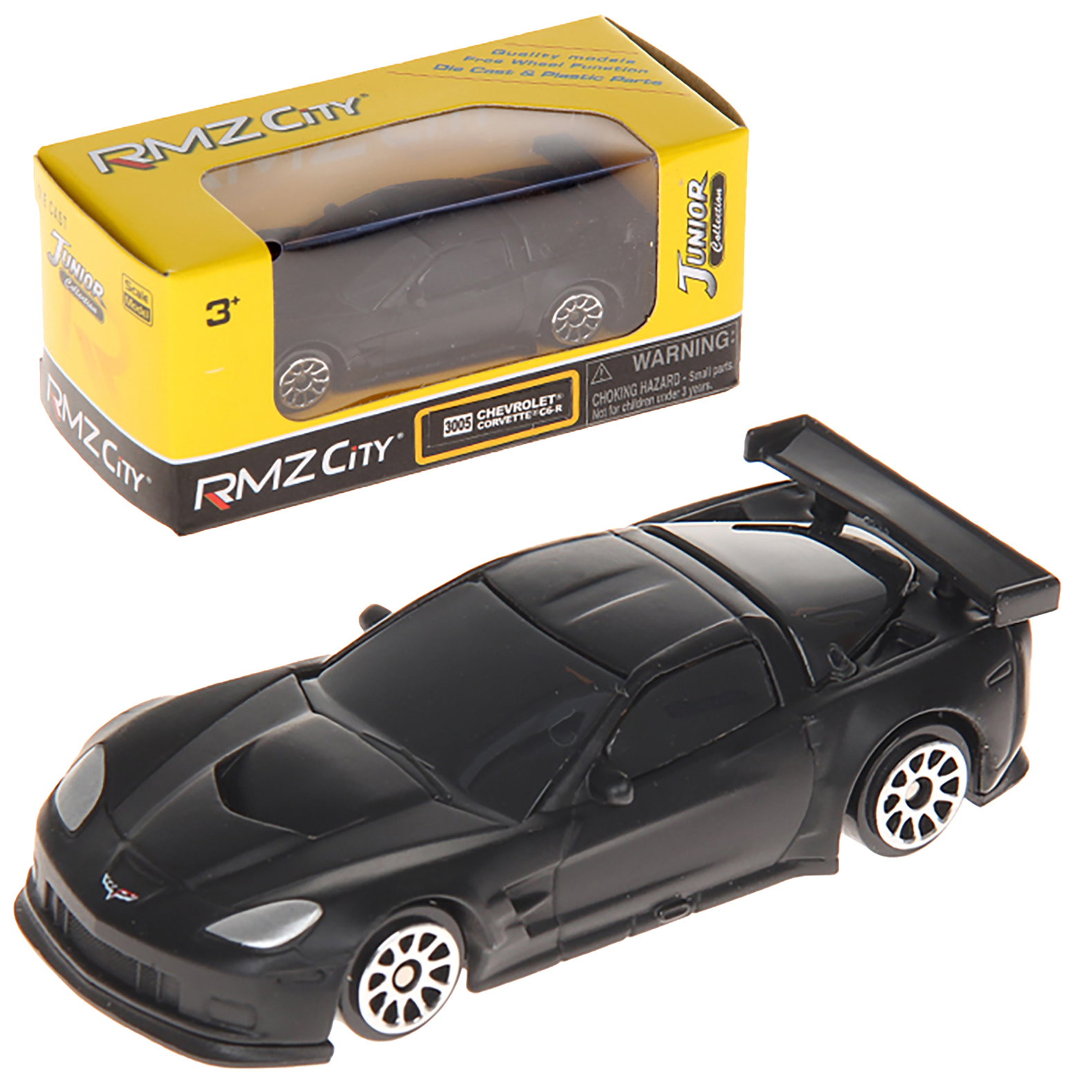 Коллекционная модель машина металлическая Rmz City 1:64 Chevrolet Corvette C6-R Uni-Fortune Rmz City 1:64 Chevrolet Corvette C6-R 7,35х3,23х2,03 см