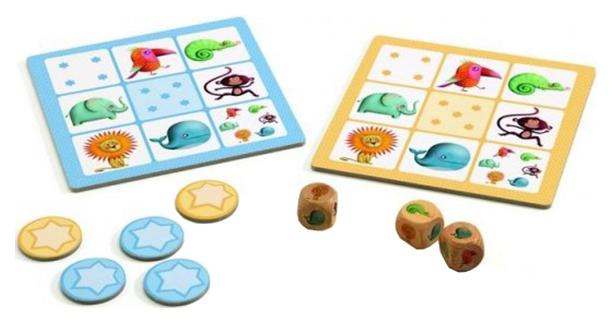 Купить Ямс, Семейная настольная игра DJECO 5209, Семейные настольные игры
