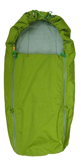 Конверт-мешок для детской коляски Чудо-Чадо Флисовый зеленый фото