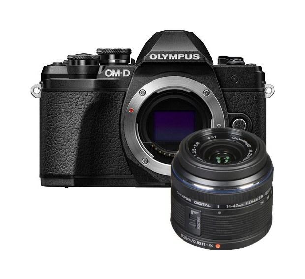 Фотоаппарат системный Olympus OM-D E-M10 Mark III 14-42 Black фото