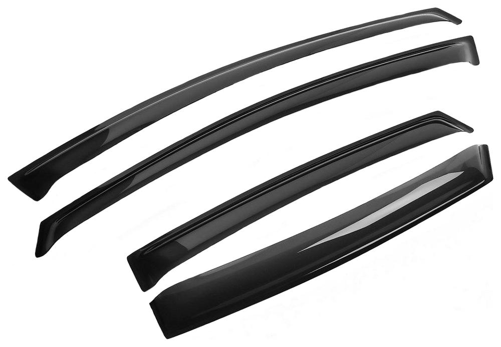 Дефлекторы боковых окон mitsubishi colt vii 2004-2012 хэтчбек компл 4 шт.
