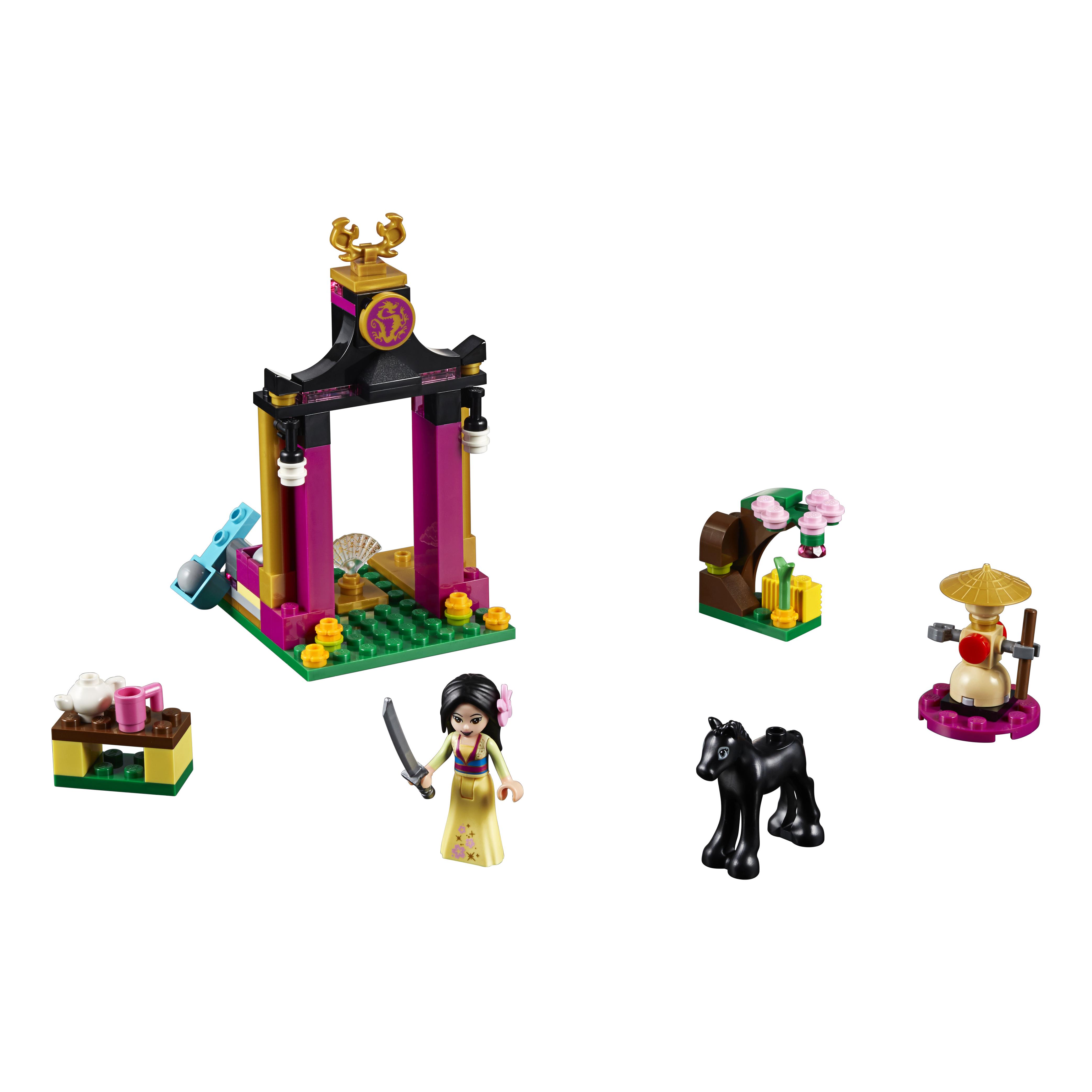 Купить Конструктор lego disney princess учебный день мулан (41151), Конструктор LEGO Disney Princess Учебный день Мулан (41151),