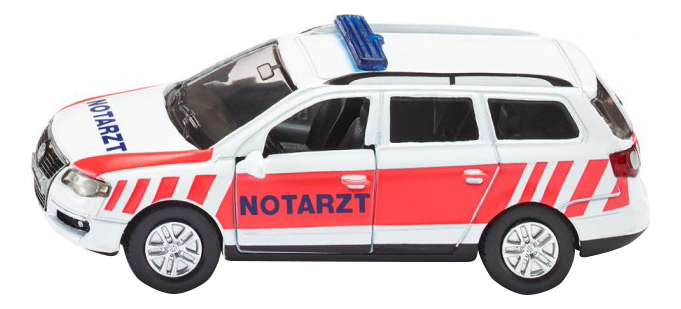 Машина спецслужбы Siku Автомобиль скорой помощи VW Passat Notarzt фото