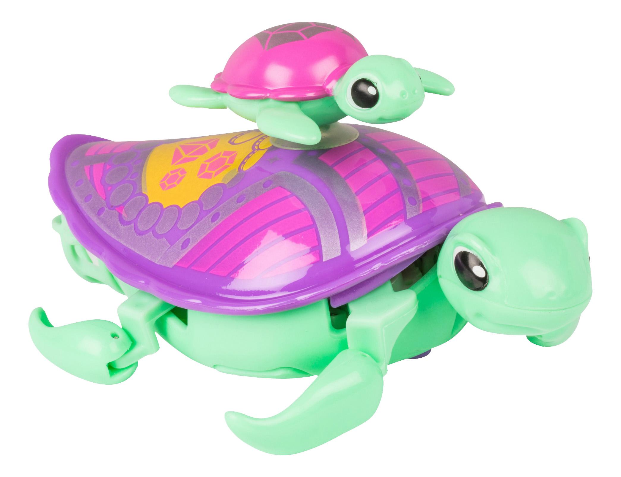 Интерактивная игрушка Little Live Pets Черепашка с малышом салатовая