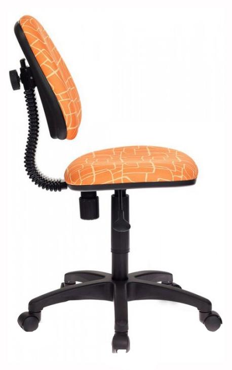 Купить Кресло детское Бюрократ CH-204NX/GIRAFFE Оранжевый жираф, Детские стульчики