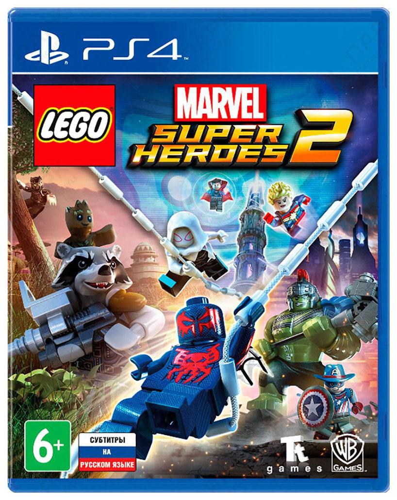 WARNER BROTHERS LEGO MARVEL SUPER HEROES 2