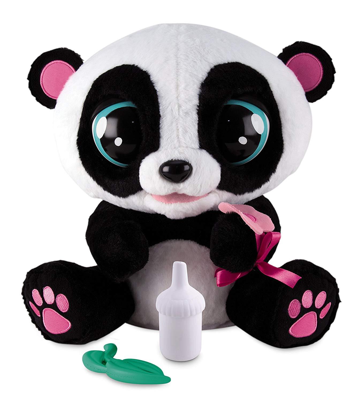 Купить Панда интерактивная Yoyo со звуковыми эффектами, шевелит глазами и ртом, IMC Toys, Интерактивные мягкие игрушки