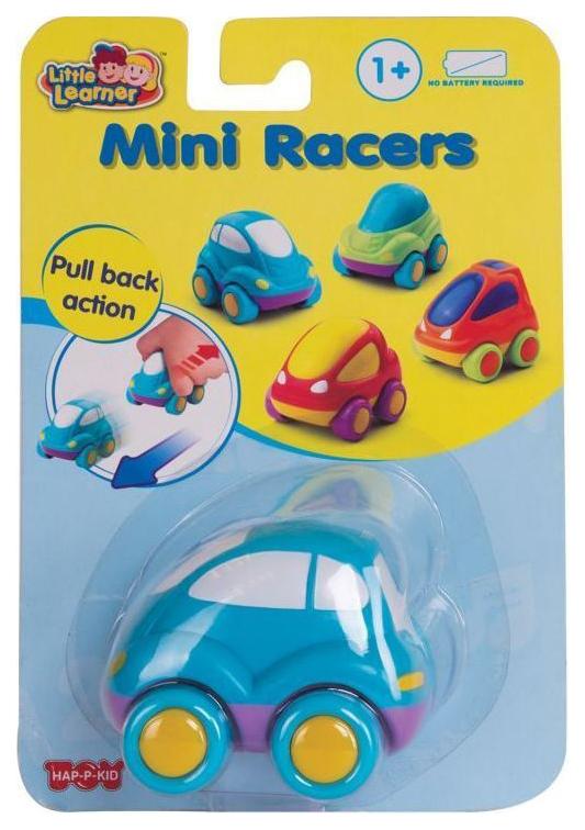 Гоночная машина мини Hap-p-Kid Mini Racers Синяя 315C фото