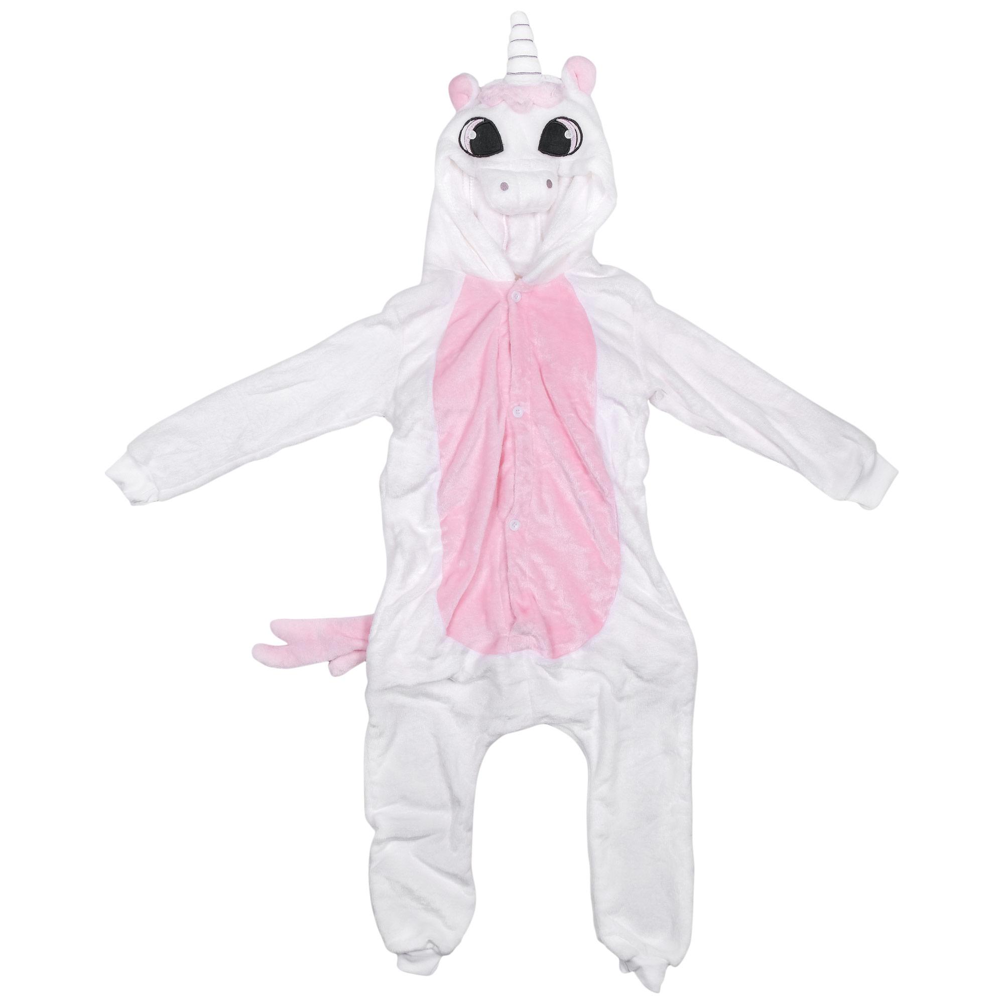 Купить Бледно-розовый Единорог, Кигуруми Lilkrok, цв. розовый р.152,