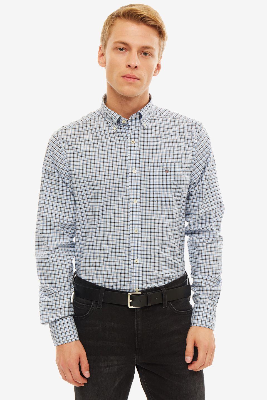 Рубашка мужская GANT синяя