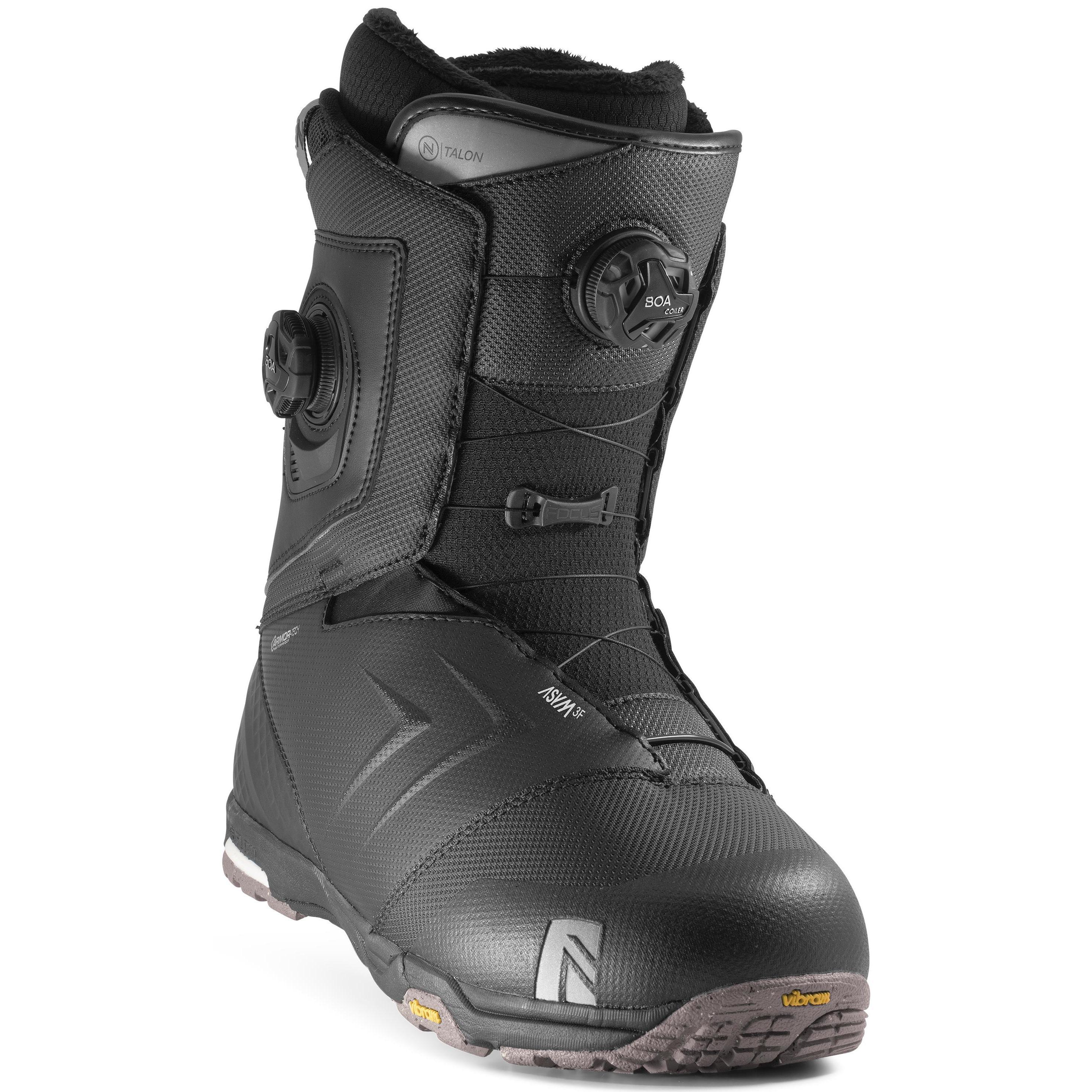 Ботинки для сноуборда Nidecker Talon 2020, black, 28