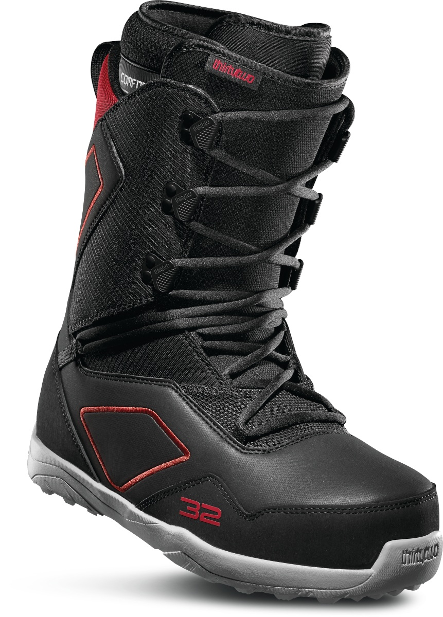 Ботинки для сноуборда ThirtyTwo Light 2020, black/red, 29.5