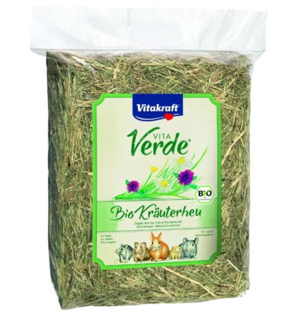 Наполнитель для туалета для грызунов Vitakraf VITA VERDE,