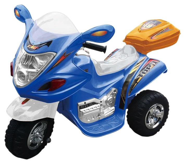 Купить CHINA BRIGHT PACIFIC Скутер на аккумуляторе, синий HL-238BE, Электромотоциклы детские