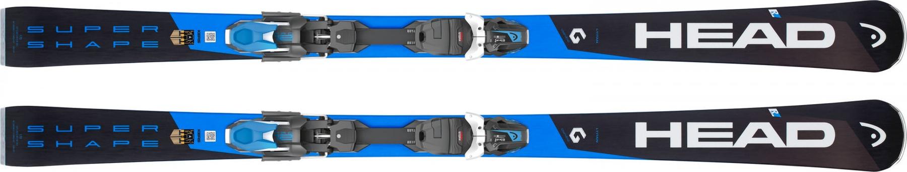Горные лыжи Head Supershape i.Titan SW MFPR + PRD 12 2019, 177 см фото