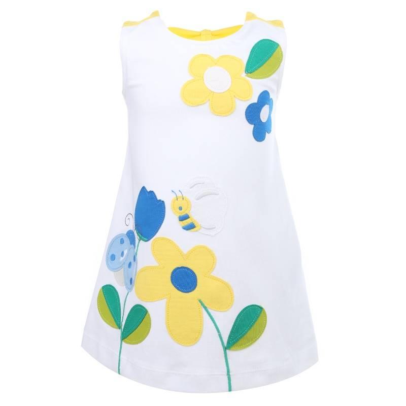 Купить Платье MAYORAL, цв. белый, 98 р-р, Детские платья и сарафаны