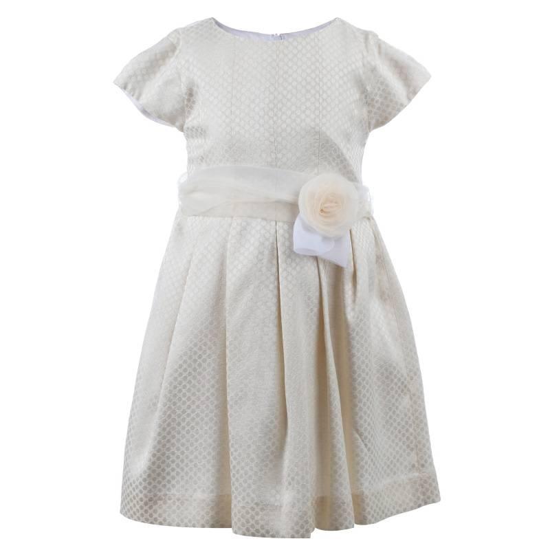 Купить Платье MAYORAL, цв. бежевый, 128 р-р, Детские платья и сарафаны