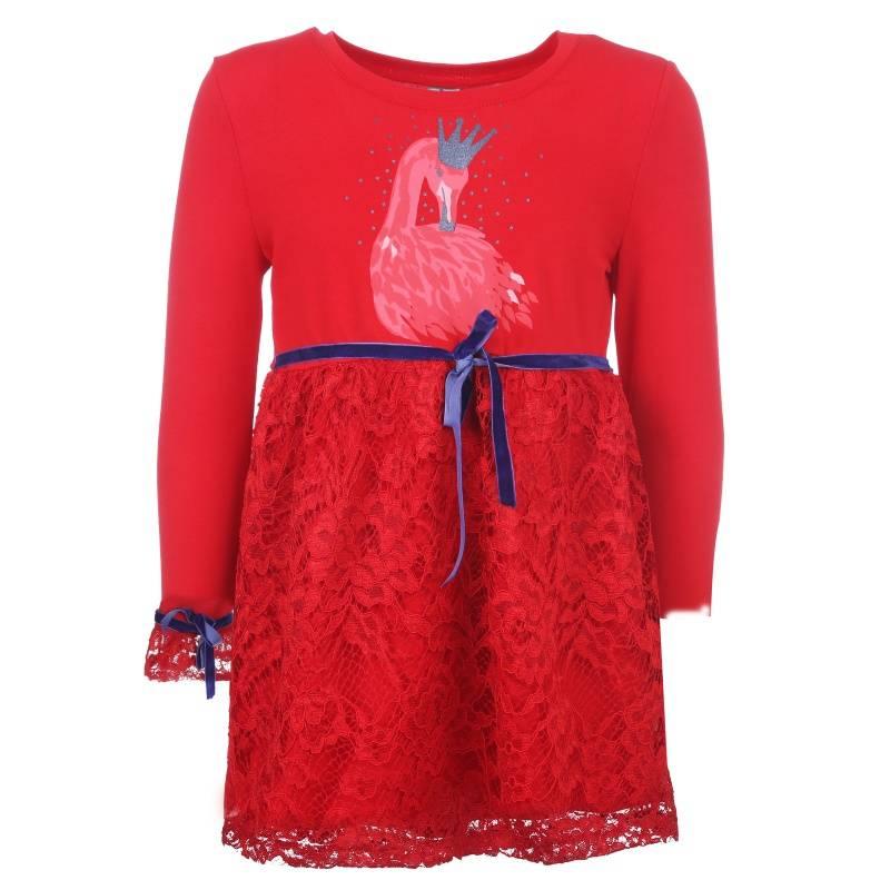 Купить Платье Goldy, цв. красный, 98 р-р, Детские платья и сарафаны