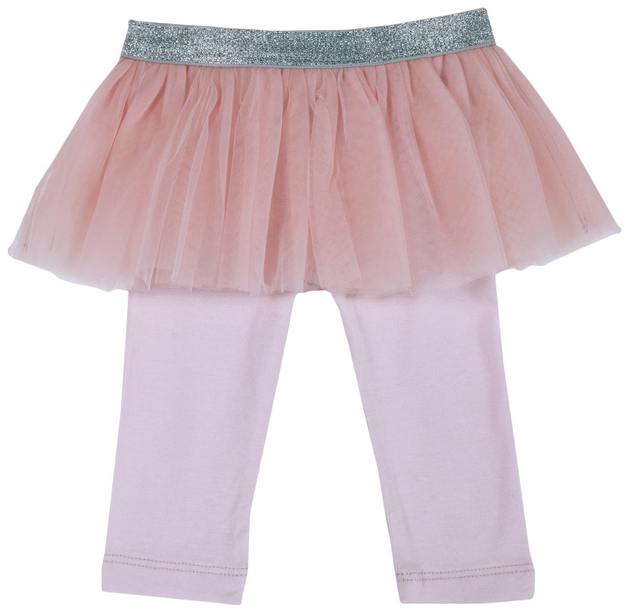 Купить 102855-M, Леггинсы Chicco с юбкой, размер 086, цвет розовый, Детские легинсы