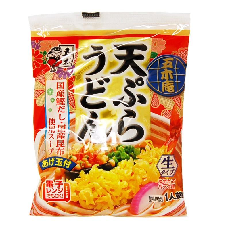 Лапша удон Itsuki готовая с тэмпура 1 порция Япония 214 г фото