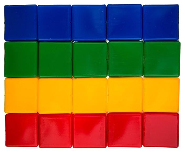 Купить Развивающая игрушка Русский стиль Кубики 20 элементов, Развивающие кубики