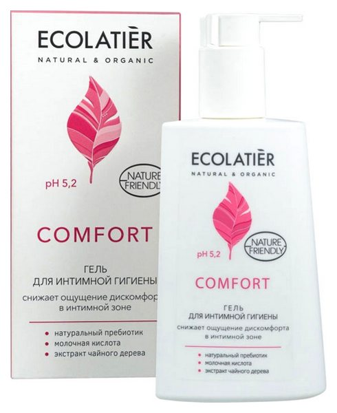 Гель для интимной гигиены ECOLATIER Comfort