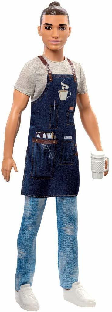 Купить Кукла Barbie Кен Бариста FXP03,