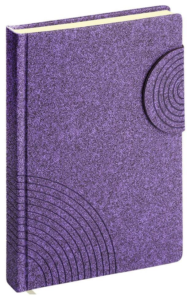 Ежедневник недатированный ErichKrause «Ruggine» на магните, А5, 168 листов, фиолетовый