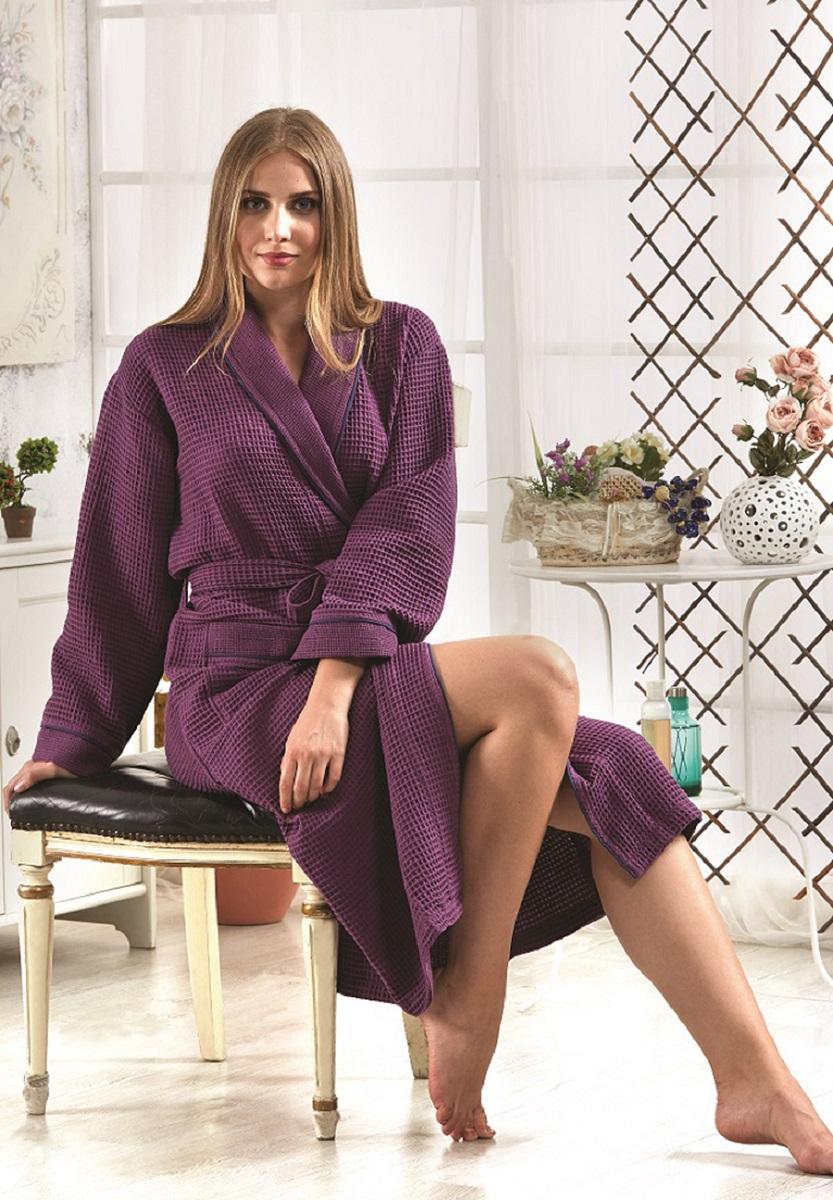 Банный халат Karna банный Fresh Цвет: Светло-Лавандовый (xL)
