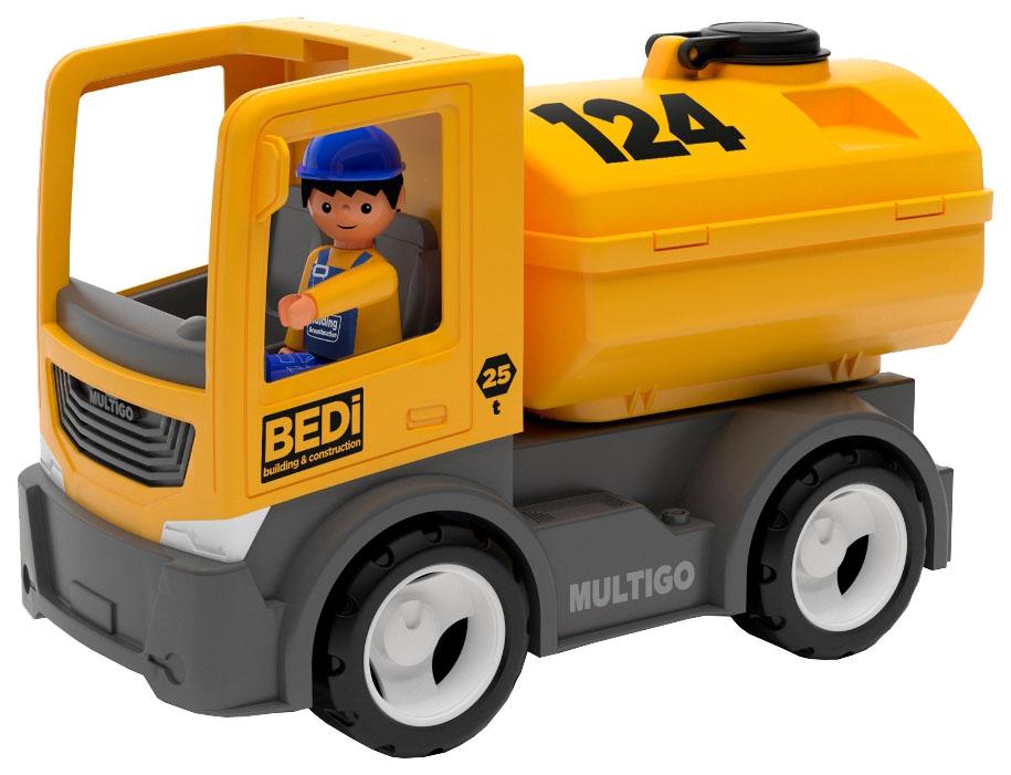 Строительный грузовик-цистерна Efko с водителем 27272EF-CH