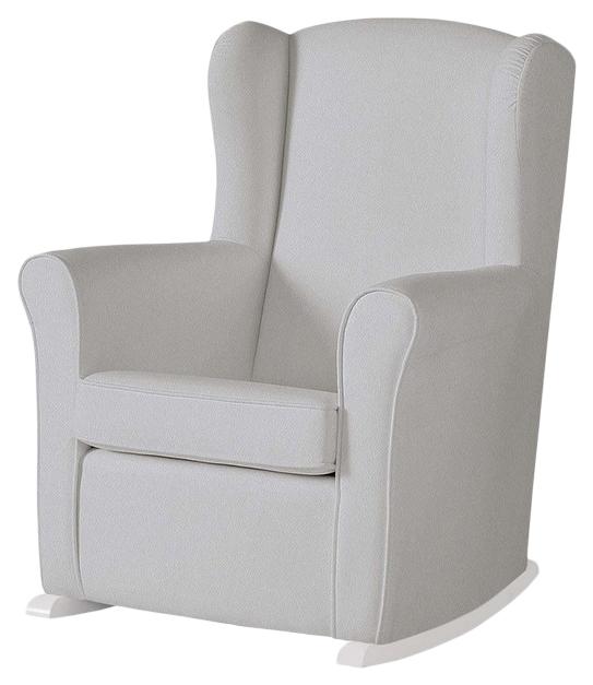 Купить Кресло-качалка Micuna (Микуна) Wing/Nanny white/grey искусственная кожа, Детские стульчики
