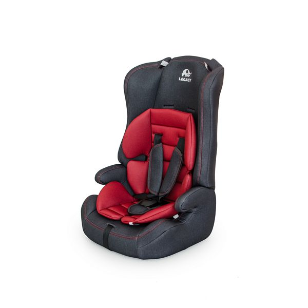 Купить Автокресло Legacy Группа 1/2/3 9-36 Кг 513 Rf Джинс+Red, Детские автокресла