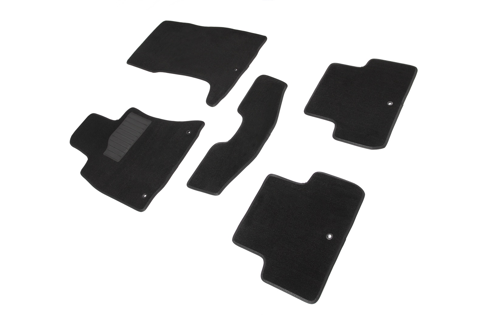 Ворсовые коврики SEINTEX 3D для Toyota Land Cruiser Prado 150 2009-2013 / 87921