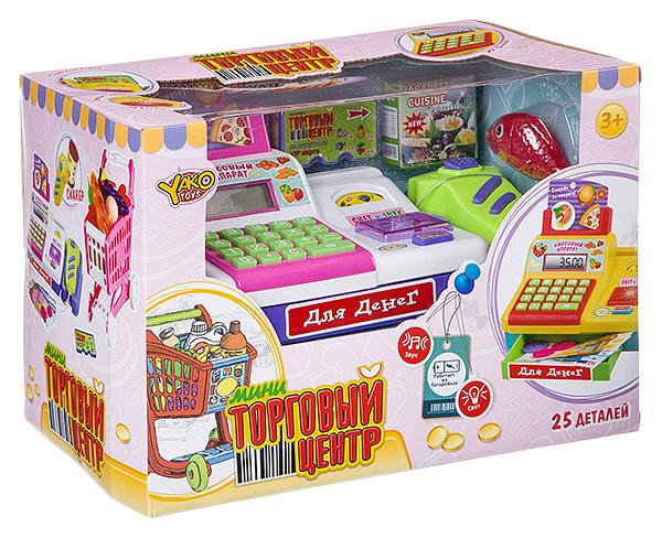 Игровой набор YAKO Мини Торговый Центр Д87561 25 предметов