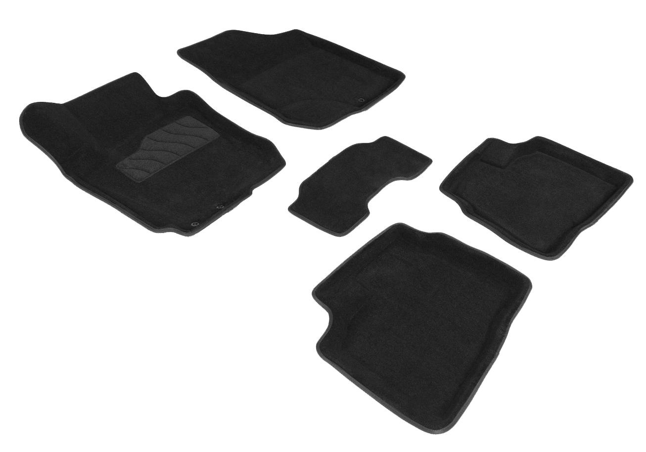 Ворсовые коврики 3D для Honda Accord VII 2002- / 88359