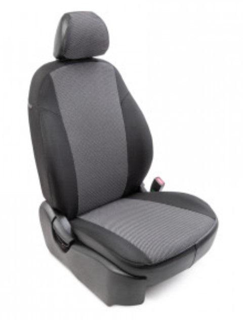 Чехлы на сиденья модельные жаккард Renault Logan 40/60 без airbag 2014- / 89022 фото