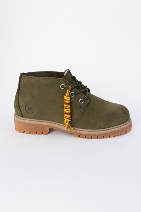 Ботинки женские Affex 75-TBT зеленые 38 RU