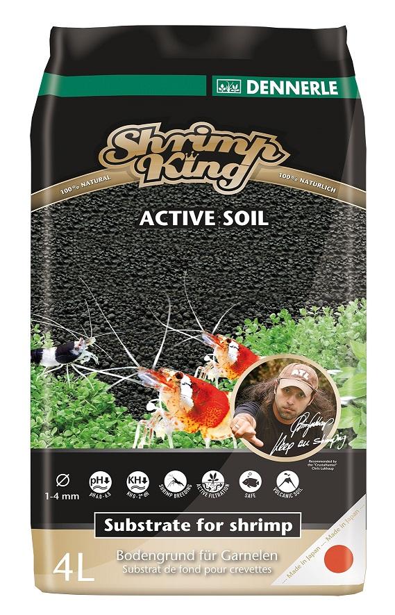 Dennerle Питательный грунт Dennerle Shrimp King Active Soil 4л фото
