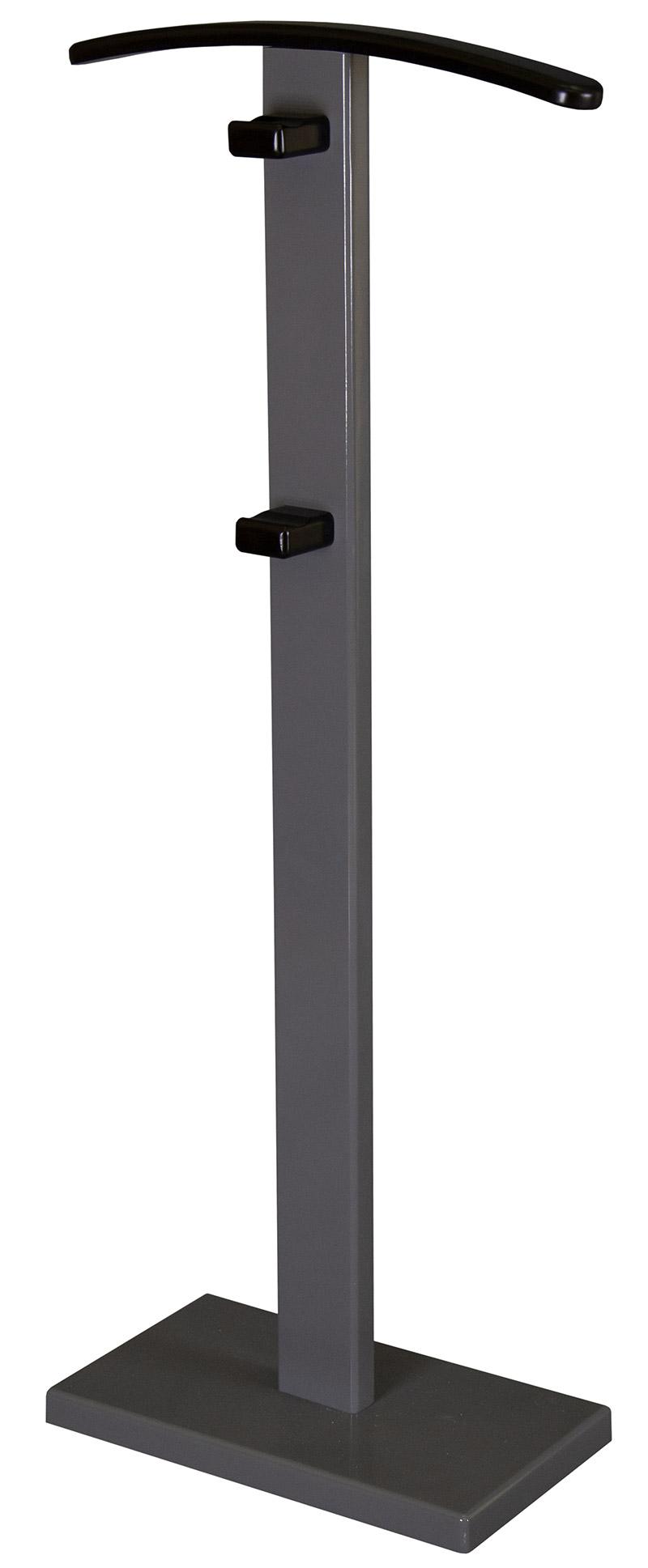 Вешалка костюмная Мебелик ГАЛАНТ 359 серый графит/венге