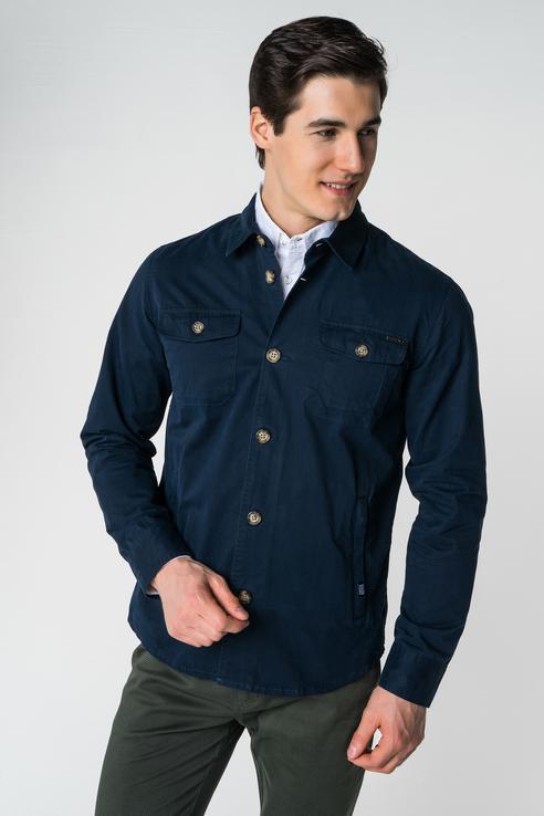 Куртка мужская Baon B608031 синяя L