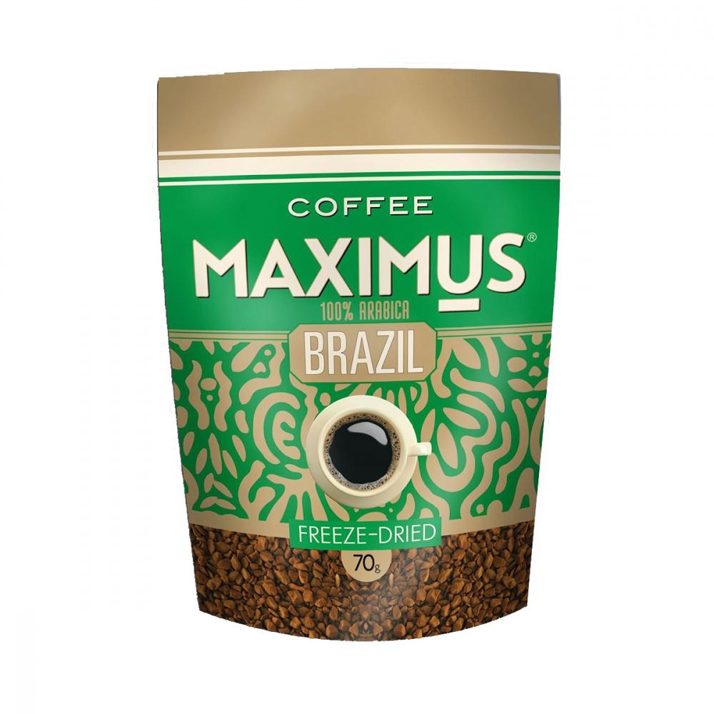 Кофе Maximus Brazil растворимый 70 г