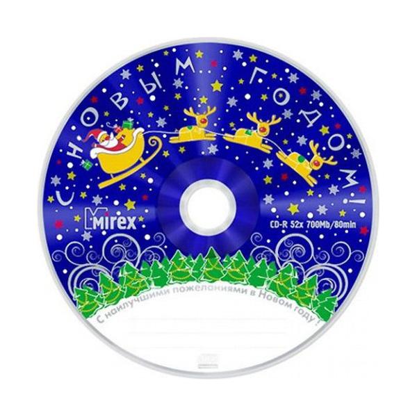 Диск Mirex Новогодний UL120100A8M 25 шт фото
