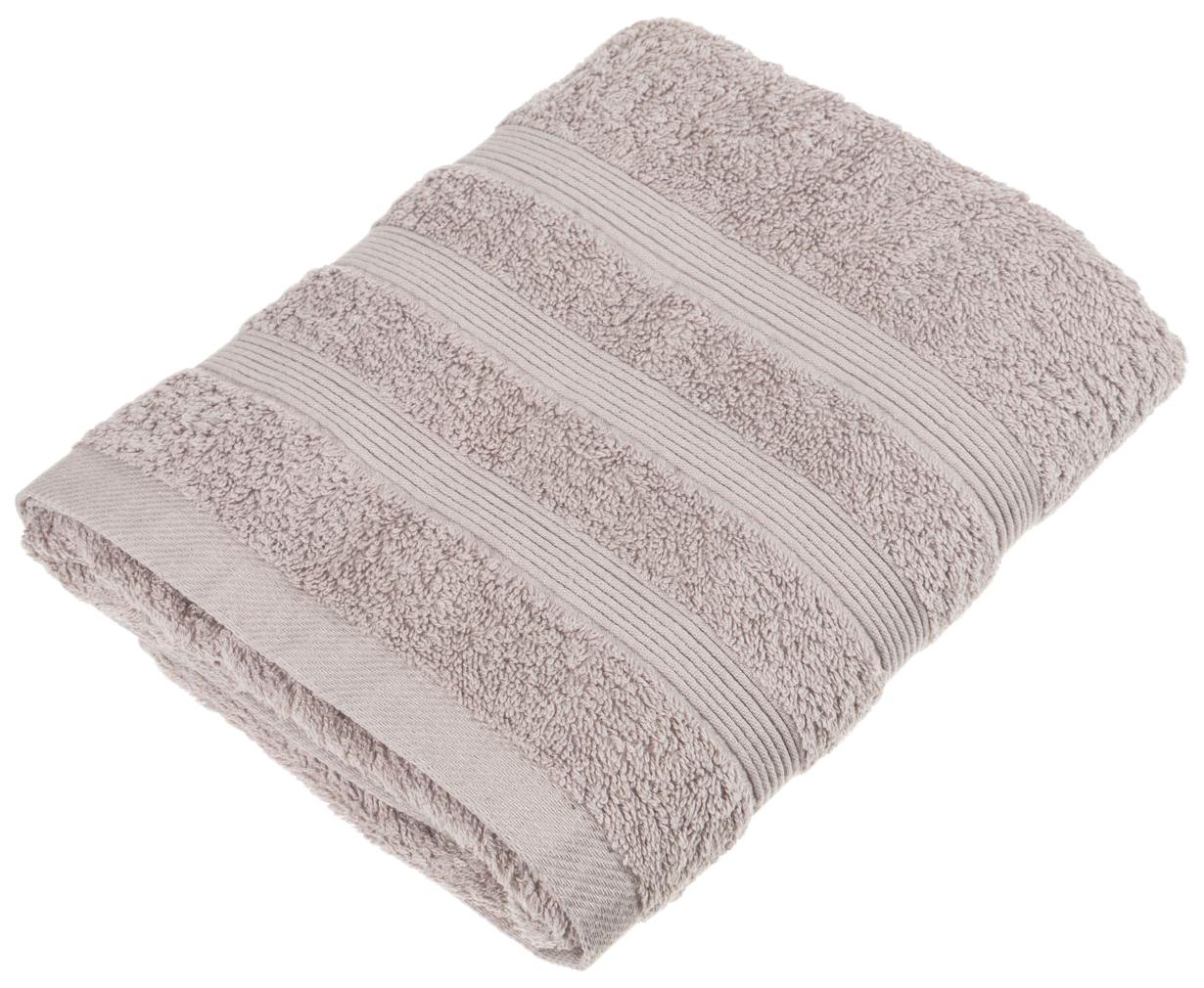 Банное полотенце, полотенце универсальное Santalino серый