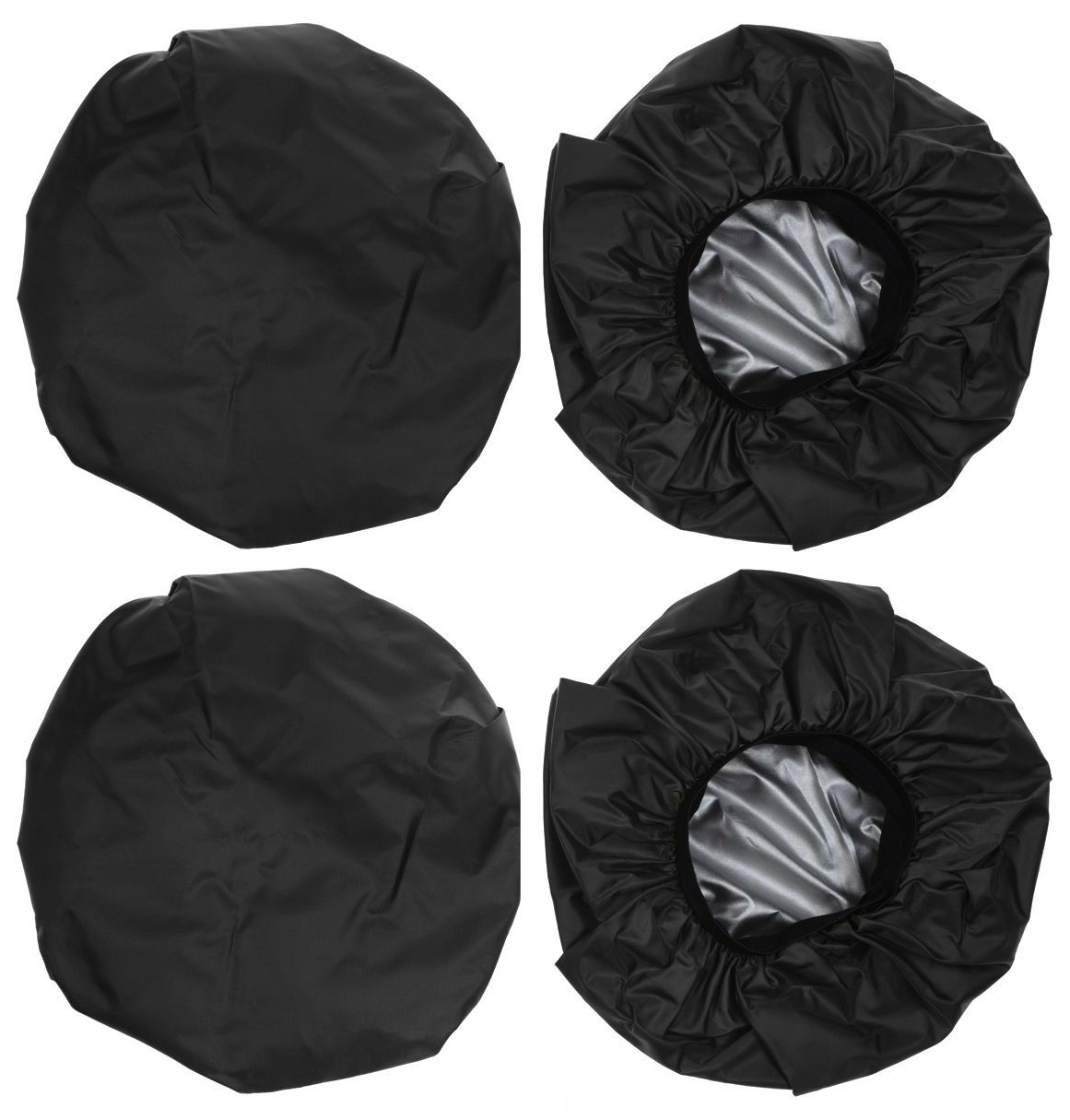 Чехлы на колеса для детской коляски Leader Kids 16300230 (диаметр колеса до 22 см) Черный