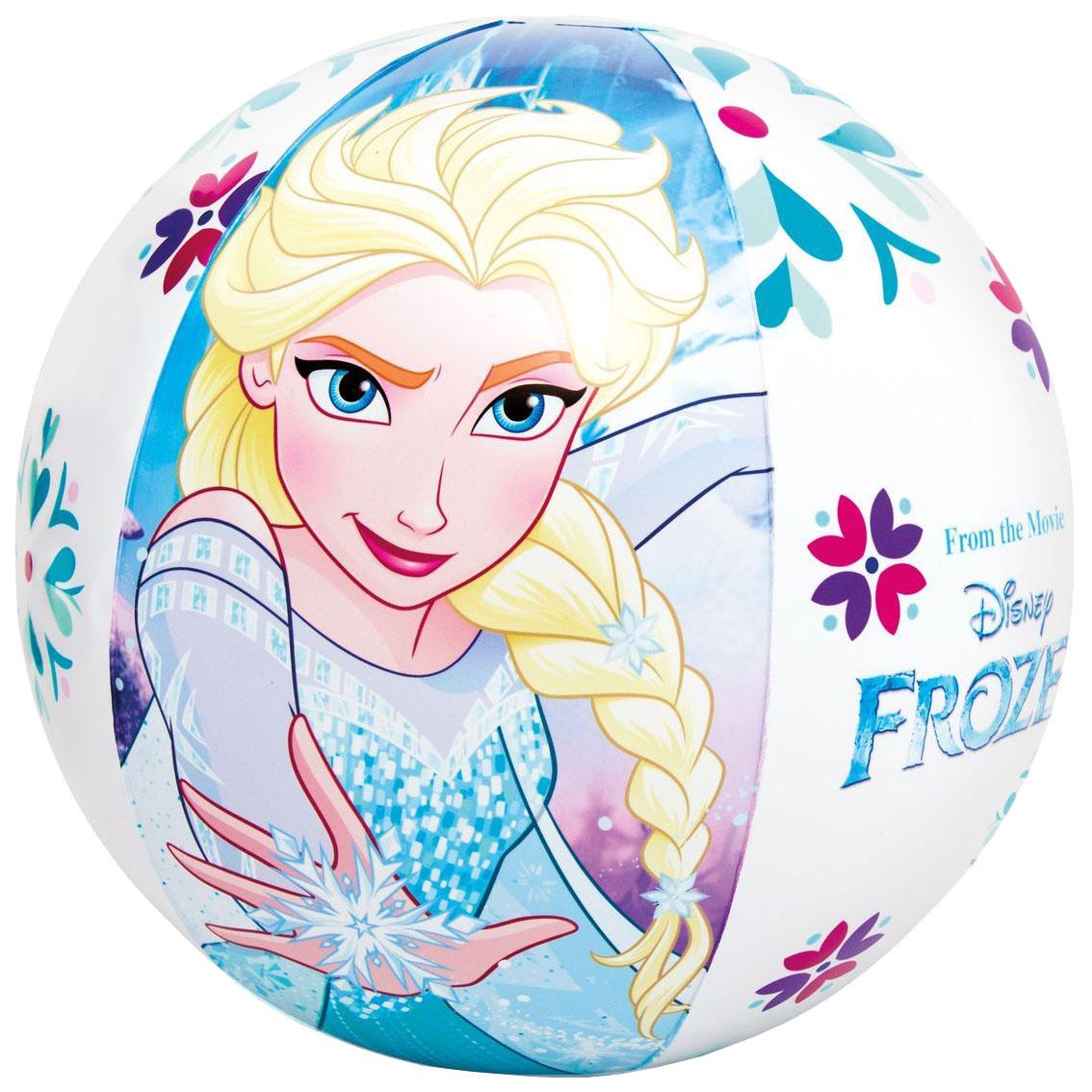 Мячик надувной Intex Disney Холодное сердце с58021