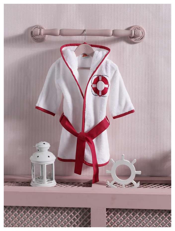 Купить Red Ocean, Халат детский Kidboo, цв. белый р.98,
