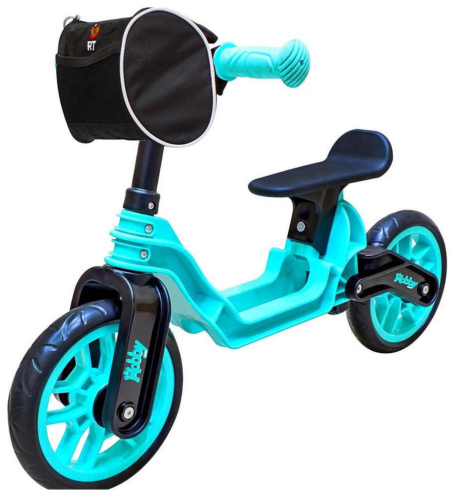 Купить Беговел Hobby bike RT ОР503 Magestic 6639 Aqua Black, R-TOYS,