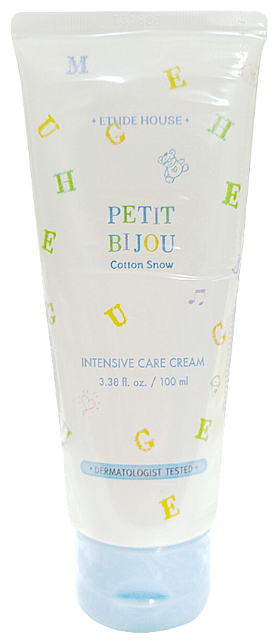 Крем для тела Etude House Petit Bijou Cotton Snow Intensive 100 мл